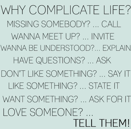 WHYCOMPLICATELIFE